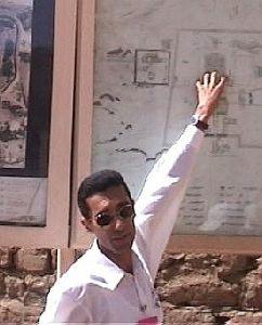 Karnak - guter Lageplan
