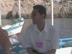Bootsfahrt zum Phileatempel
