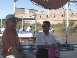 Bootsfahrt nach Philea